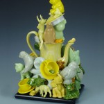 Yellow Menagerie Teapot