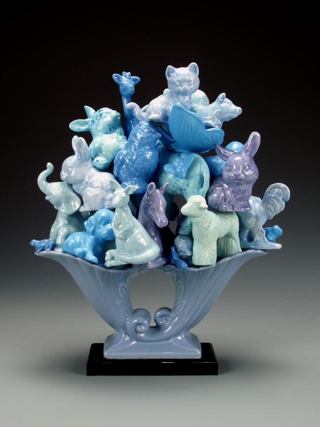 Ahimsa Trophy Blue