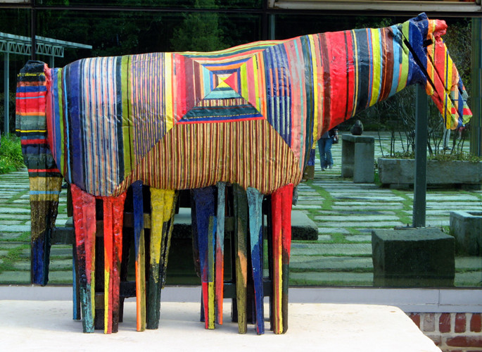 Horse at studio of Shin Sang Ho